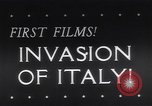 Image of Invasion of Italy Salerno Italy, 1943, second 1 stock footage video 65675040777