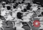 Image of Sydney Australia College of Physical Culture performance Sydney Australia, 1944, second 9 stock footage video 65675040781