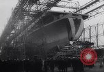 Image of aircraft carrier Shangri-La Portsmouth Virginia USA, 1944, second 7 stock footage video 65675040794