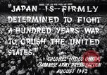 Image of Fervently patriotic Japanese people Pacific Theater, 1944, second 5 stock footage video 65675040811