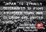 Image of Fervently patriotic Japanese people Pacific Theater, 1944, second 6 stock footage video 65675040811