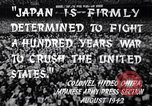 Image of Fervently patriotic Japanese people Pacific Theater, 1944, second 8 stock footage video 65675040811