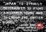 Image of Fervently patriotic Japanese people Pacific Theater, 1944, second 9 stock footage video 65675040811