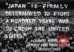 Image of Fervently patriotic Japanese people Pacific Theater, 1944, second 10 stock footage video 65675040811