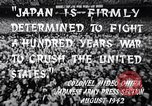 Image of Fervently patriotic Japanese people Pacific Theater, 1944, second 11 stock footage video 65675040811