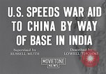 Image of US military aid to China through India in World War 2 India, 1942, second 5 stock footage video 65675040822