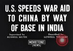 Image of US military aid to China through India in World War 2 India, 1942, second 8 stock footage video 65675040822