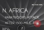 Image of US Army paratroopers jump from C-47 North Africa, 1942, second 2 stock footage video 65675040824