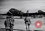 Image of US Army paratroopers jump from C-47 North Africa, 1942, second 5 stock footage video 65675040824