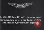 Image of Wilbur Wright Italy, 1909, second 3 stock footage video 65675040852