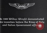 Image of Wilbur Wright Italy, 1909, second 7 stock footage video 65675040852