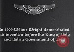 Image of Wilbur Wright Italy, 1909, second 8 stock footage video 65675040852