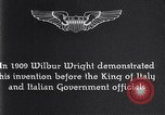 Image of Wilbur Wright Italy, 1909, second 11 stock footage video 65675040852