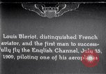 Image of Louis Bleriot France, 1909, second 1 stock footage video 65675040854