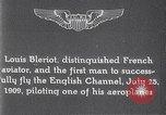 Image of Louis Bleriot France, 1909, second 2 stock footage video 65675040854
