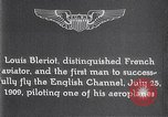 Image of Louis Bleriot France, 1909, second 3 stock footage video 65675040854