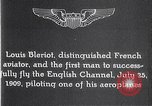 Image of Louis Bleriot France, 1909, second 7 stock footage video 65675040854
