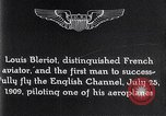 Image of Louis Bleriot France, 1909, second 8 stock footage video 65675040854