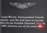 Image of Louis Bleriot France, 1909, second 9 stock footage video 65675040854