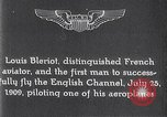 Image of Louis Bleriot France, 1909, second 10 stock footage video 65675040854