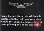 Image of Louis Bleriot France, 1909, second 12 stock footage video 65675040854