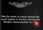 Image of Wilbur Wright France, 1908, second 11 stock footage video 65675040864