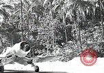 Image of U.S. F4U Corsair aircraft Vella Lavella field World War II New Georgia Solomon Islands, 1943, second 3 stock footage video 65675040873