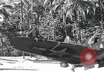 Image of U.S. F4U Corsair aircraft Vella Lavella field World War II New Georgia Solomon Islands, 1943, second 7 stock footage video 65675040873
