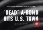 Image of atomic bomb accidentally dropped Florence South Carolina USA, 1958, second 1 stock footage video 65675040882