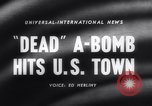 Image of atomic bomb accidentally dropped Florence South Carolina USA, 1958, second 2 stock footage video 65675040882