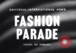 Image of Fashion parade Rome Italy, 1958, second 1 stock footage video 65675040886