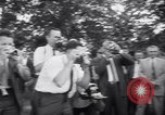Image of President Eisenhower 42nd wedding anniversary Washington DC USA, 1958, second 6 stock footage video 65675040891