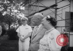 Image of President Eisenhower 42nd wedding anniversary Washington DC USA, 1958, second 7 stock footage video 65675040891