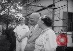 Image of President Eisenhower 42nd wedding anniversary Washington DC USA, 1958, second 9 stock footage video 65675040891