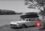 Image of station wagon Michigan USA, 1958, second 5 stock footage video 65675040893