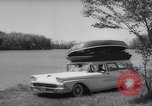 Image of station wagon Michigan USA, 1958, second 6 stock footage video 65675040893