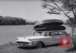 Image of station wagon Michigan USA, 1958, second 7 stock footage video 65675040893