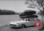 Image of station wagon Michigan USA, 1958, second 10 stock footage video 65675040893