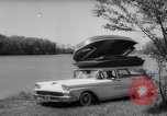 Image of station wagon Michigan USA, 1958, second 11 stock footage video 65675040893