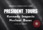 Image of President Kennedy United States USA, 1962, second 1 stock footage video 65675040901