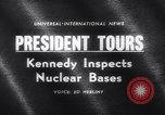 Image of President Kennedy United States USA, 1962, second 2 stock footage video 65675040901