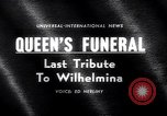 Image of Queen Wilhelmina Netherlands, 1962, second 3 stock footage video 65675040903