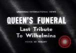 Image of Queen Wilhelmina Netherlands, 1962, second 5 stock footage video 65675040903