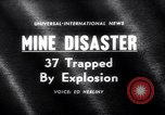 Image of Mine disaster Pennsylvania United States USA, 1962, second 1 stock footage video 65675040905