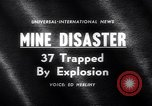 Image of Mine disaster Pennsylvania United States USA, 1962, second 3 stock footage video 65675040905