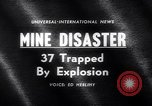 Image of Mine disaster Pennsylvania United States USA, 1962, second 4 stock footage video 65675040905