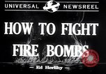 Image of Fire bombs College Park Maryland USA, 1942, second 1 stock footage video 65675040911