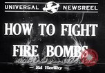 Image of Fire bombs College Park Maryland USA, 1942, second 2 stock footage video 65675040911
