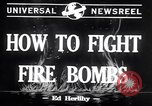 Image of Fire bombs College Park Maryland USA, 1942, second 3 stock footage video 65675040911