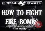 Image of Fire bombs College Park Maryland USA, 1942, second 4 stock footage video 65675040911